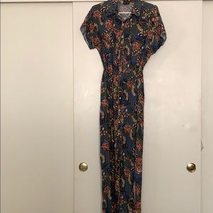 Beautiful LuLaRoe supply shirt maxi dress